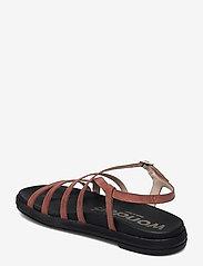 Wonders - B-7412 PERGAMENA - platta sandaler - brown - 2