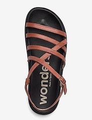 Wonders - B-7412 PERGAMENA - platta sandaler - brown - 3