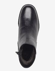 Wonders - Warm lamb fur lining C-4829-M - flat ankle boots - oregon f.m negro - 3