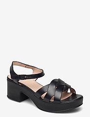 Wonders - D-8811-P PERGAMENA - högklackade sandaler - black - 0