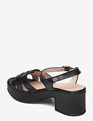 Wonders - D-8811-P PERGAMENA - högklackade sandaler - black - 2