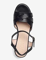 Wonders - D-8811-P PERGAMENA - högklackade sandaler - black - 3