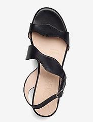Wonders - D-8813-P PERGAMENA - högklackade sandaler - black - 3