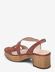 Wonders - D-8813-P PERGAMENA - högklackade sandaler - brown - 2