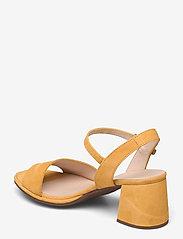 Wonders - F-7202 ANTE - högklackade sandaler - yellow - 2
