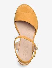 Wonders - F-7202 ANTE - högklackade sandaler - yellow - 3