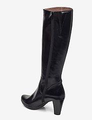 Wonders - I-4930 - lange laarzen - black - 2