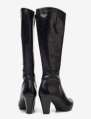 Wonders - I-4930 - lange laarzen - black - 4