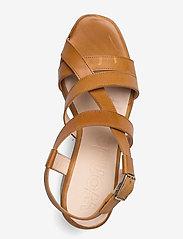 Wonders - L-1002 PERGAMENA - högklackade sandaler - brown - 3