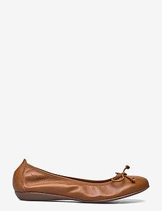 A-6191 ISEO - ballerinas - brown