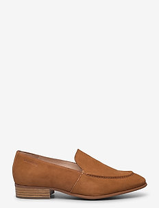 B-7610 LACK - loafers - brown