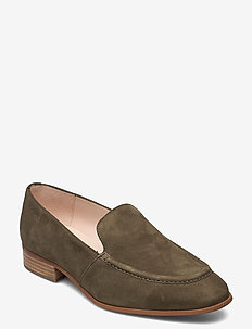 B-7610 LACK - loafers - green