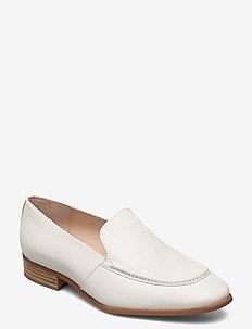 B-7610 LACK - loafers - white