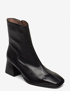 H-4303 - ankle boots with heel - black