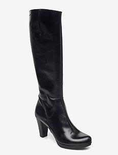I-4930 - lange laarzen - black
