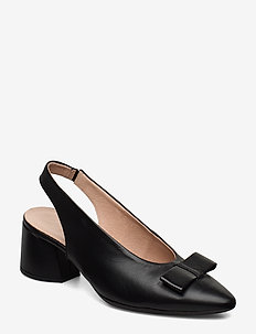 I-8003 - sling backs - black