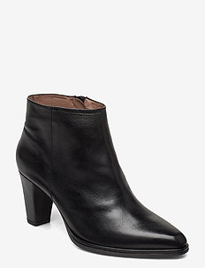 M-4407 - ankle boots with heel - black