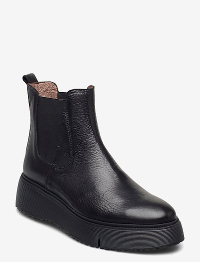 A-9332 - chelsea boots - black