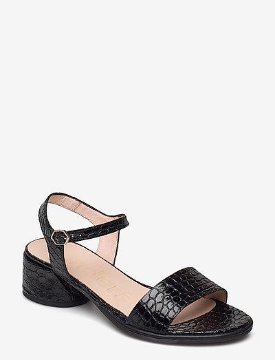 B-7301 FIANCHI/IS - högklackade sandaler - black