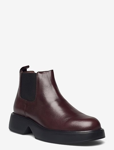 B-8204 - chelsea boots - brown