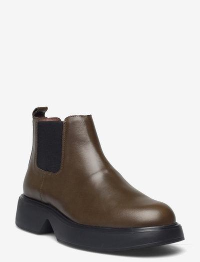B-8204 - chelsea boots - green