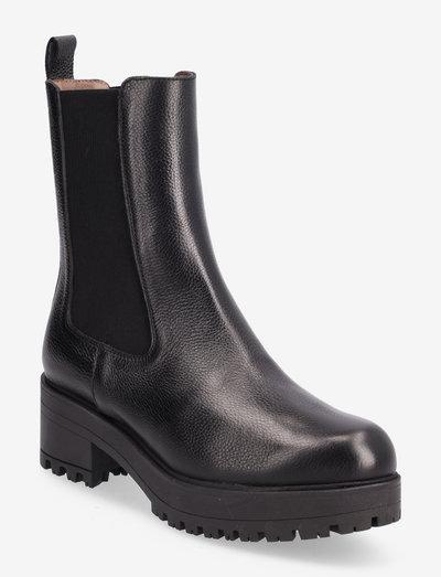 E-6114 WILLER - chelsea boots - black