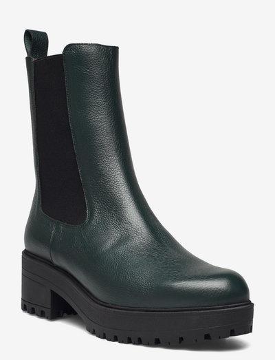 E-6114 WILLER - chelsea boots - green