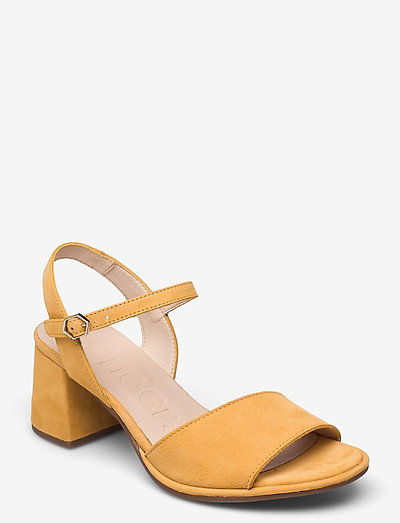 F-7202 ANTE - högklackade sandaler - yellow