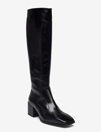 H-4704 - lange stiefel - black