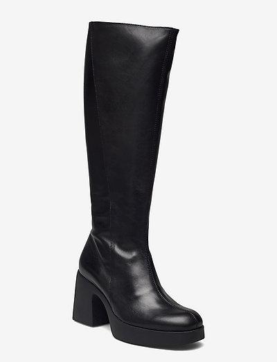 H-4905 - lange stiefel - black