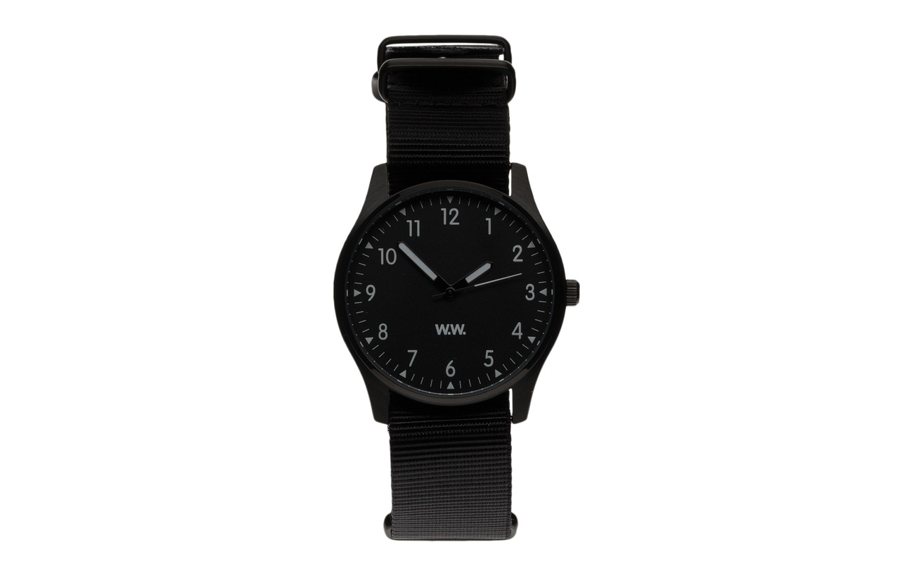 Wood Wood WW watch - BLACK