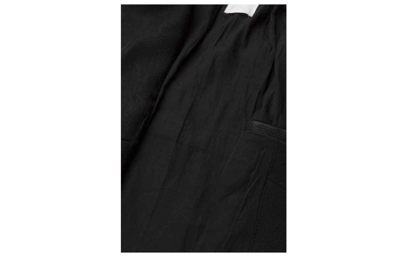 Extérieure Cowleather Black Doublure Polyester Wood Jacket Lucia Coquille 100 Inner YTIERq