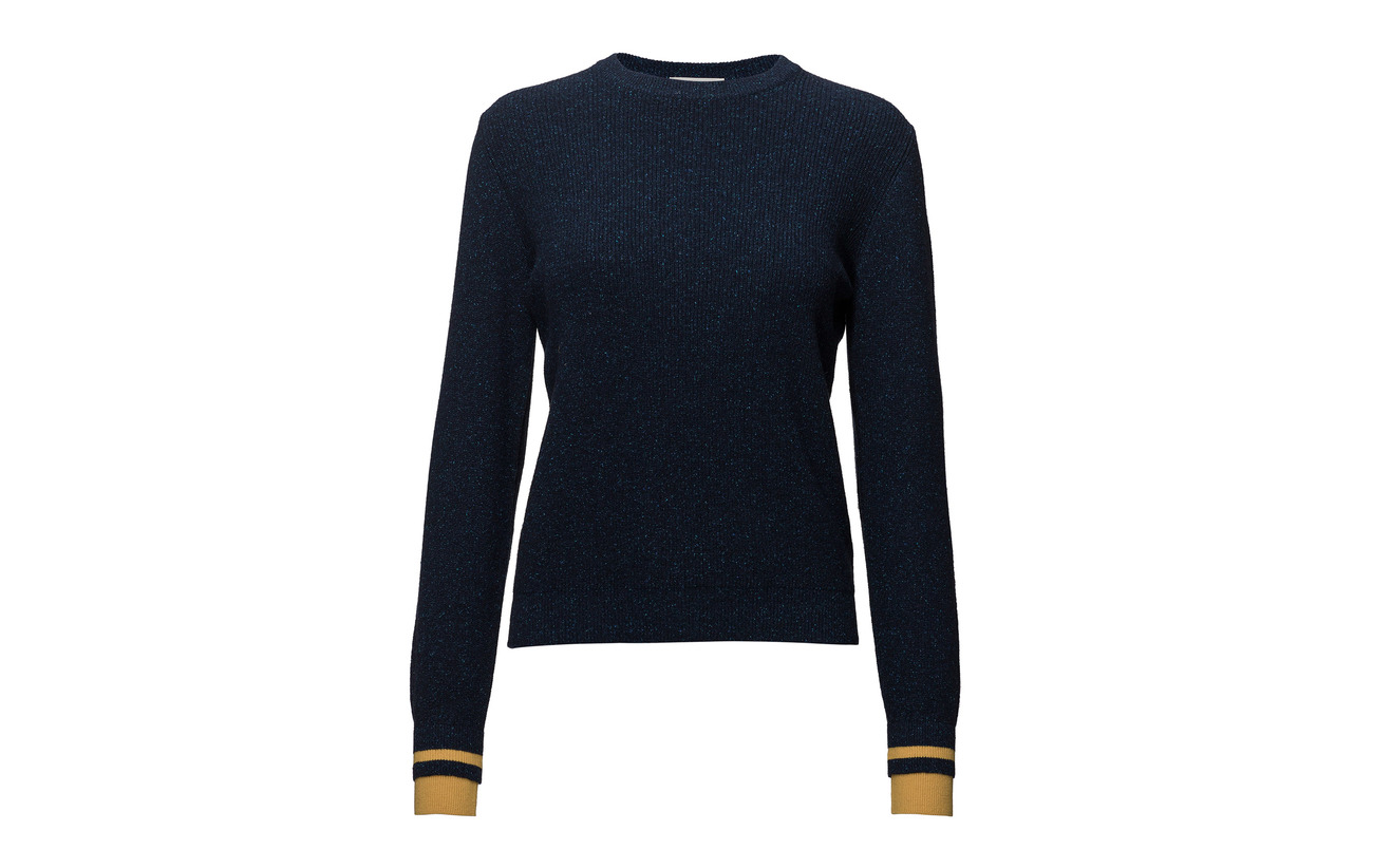 Wood Sweater Regina Laine 70 Navy 30 Polyamide rOwxr1qagn