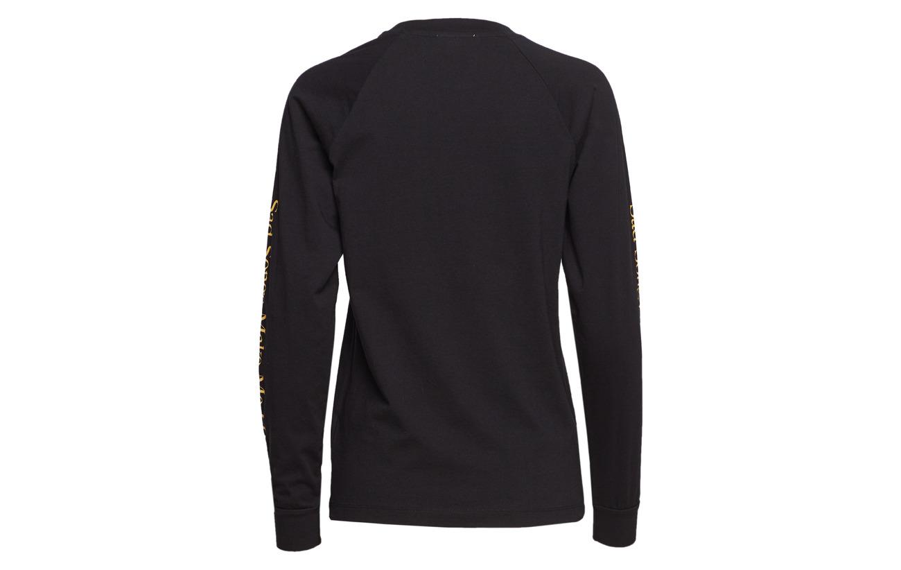 100 Coton Halli Black Wood Sleeve Long gxzqn1Ip