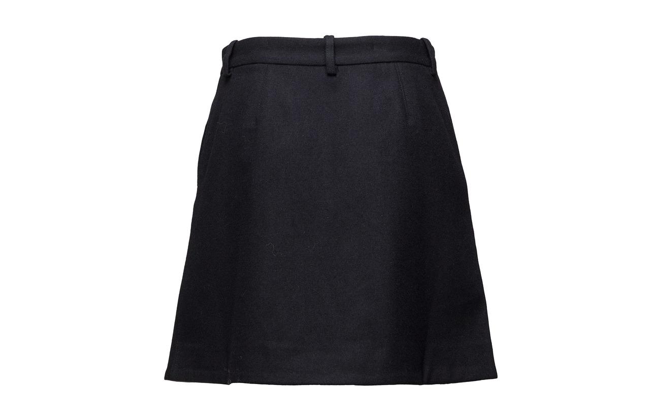 Laine 35 Nina 60 Skirt Polyester 5 Wood Polyamide Navy vCPqgxnIIw