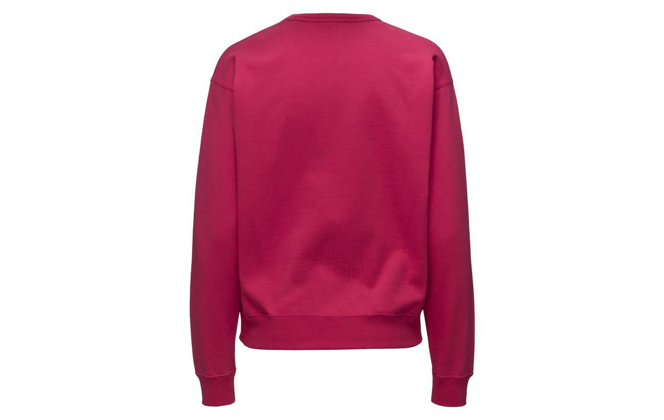 Coton Wood 100 Sweatshirt Pink Flora x87YIS