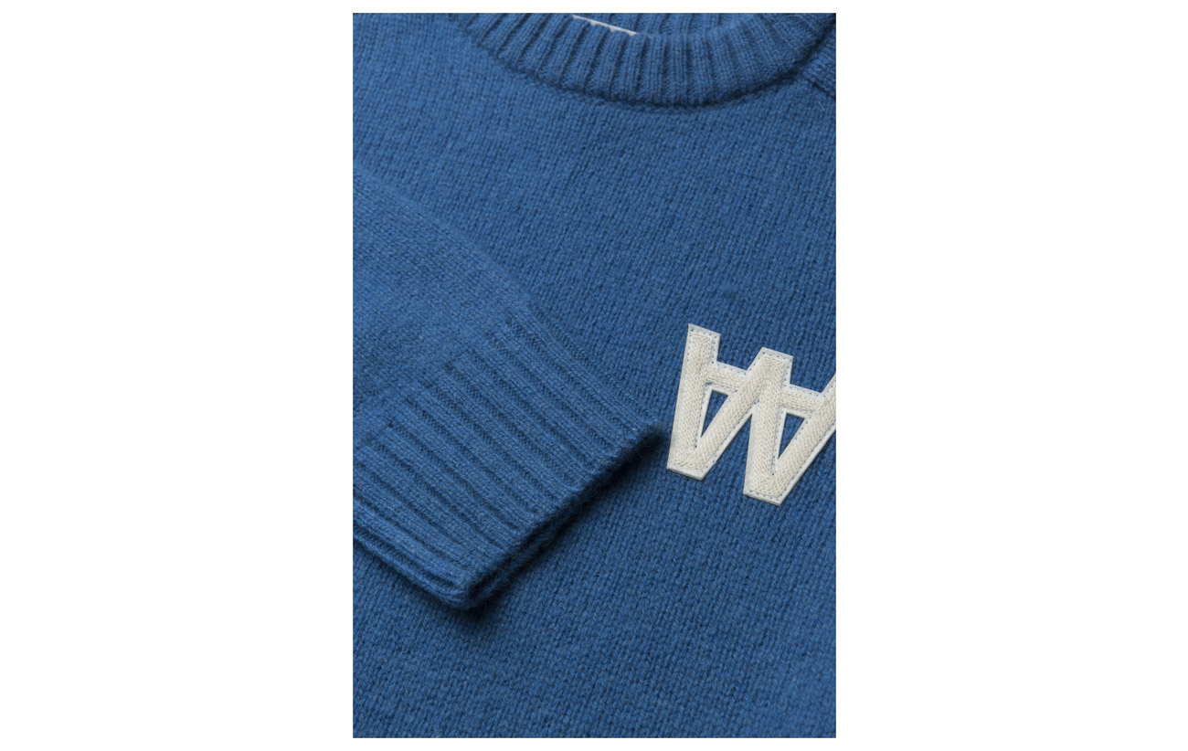 Wood Kevin Sweater Bright Kevin Blue Wood OFOYC