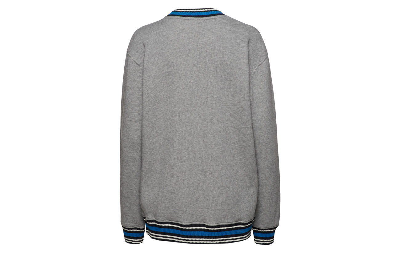 Coton Nathan Wood Polyester Melange Sweatshirt 44 56 Grey 0H10nx