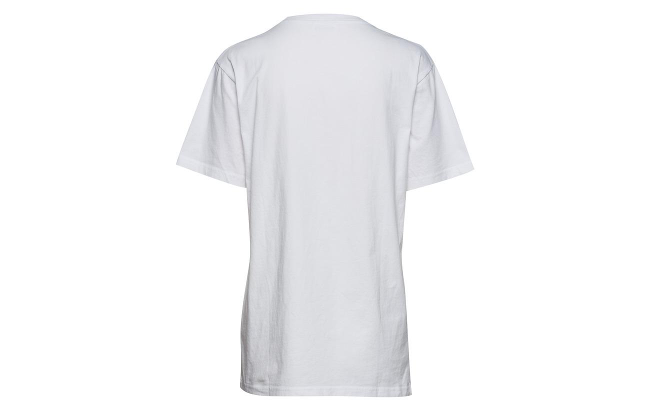 Wood Bright Ww shirt T Coton 100 White Square rUrwOqnxR