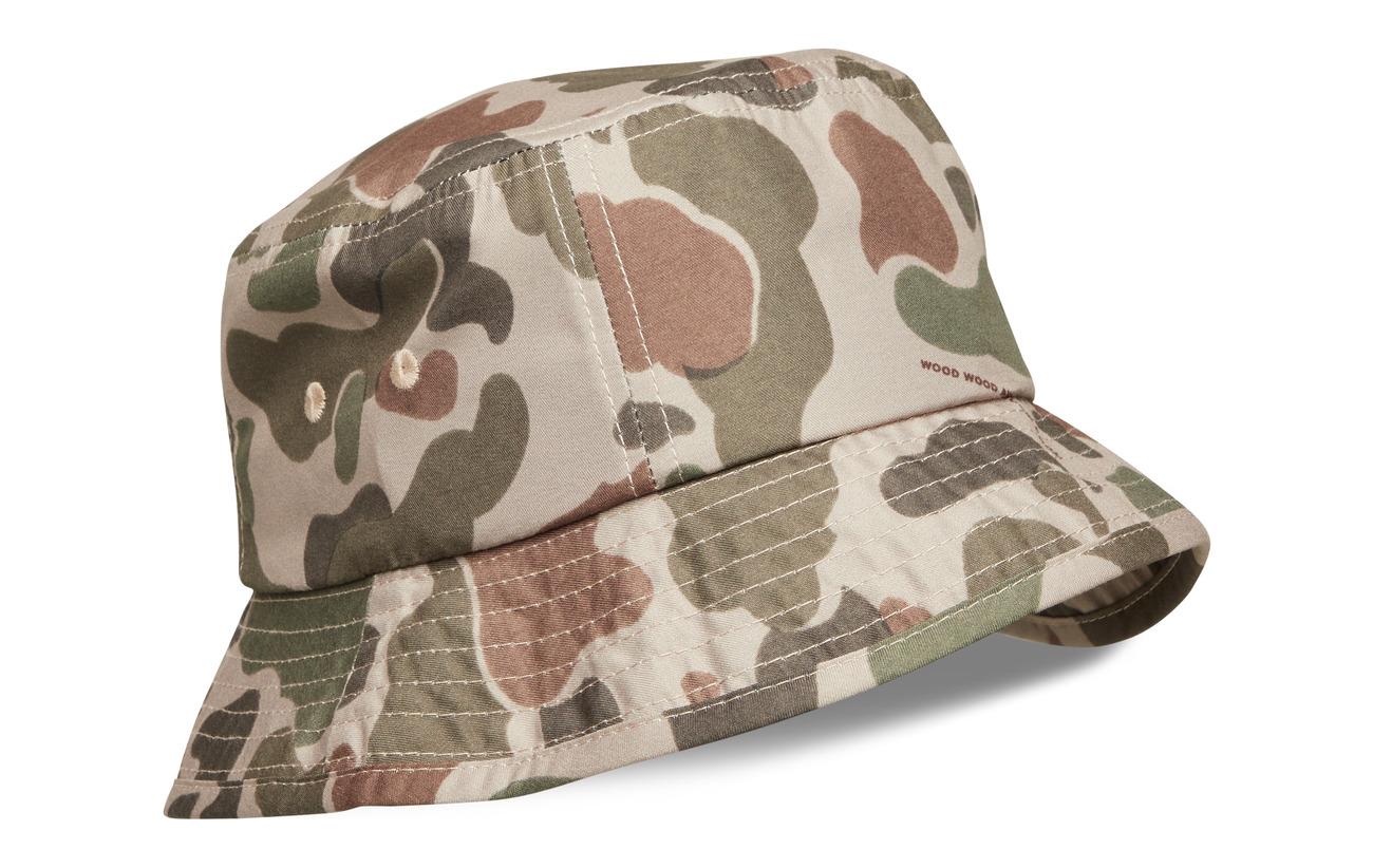 Wood Wood Bucket hat - TAUPE AOP