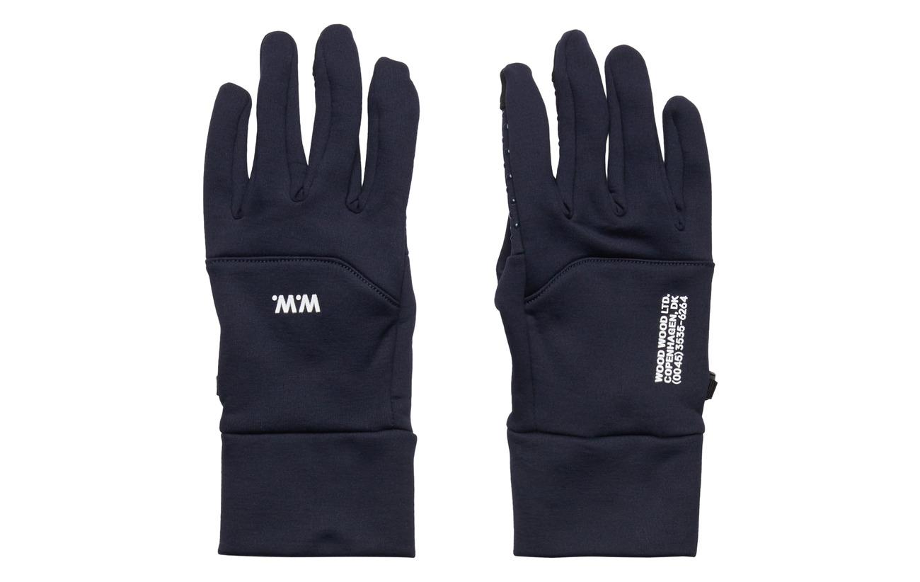 Wood Wood Holger gloves - NAVY