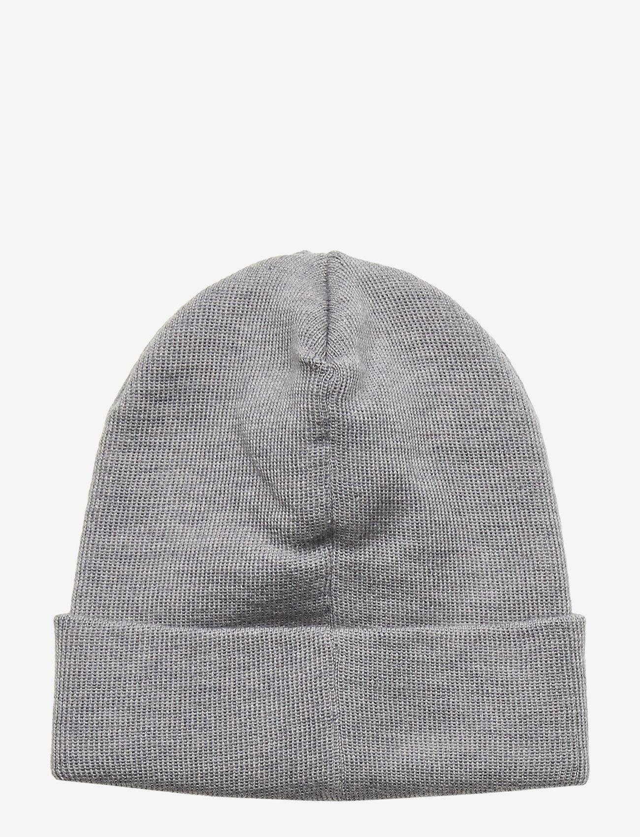 Wood Wood - Kai kids beanie - kapelusze - grey melange - 1
