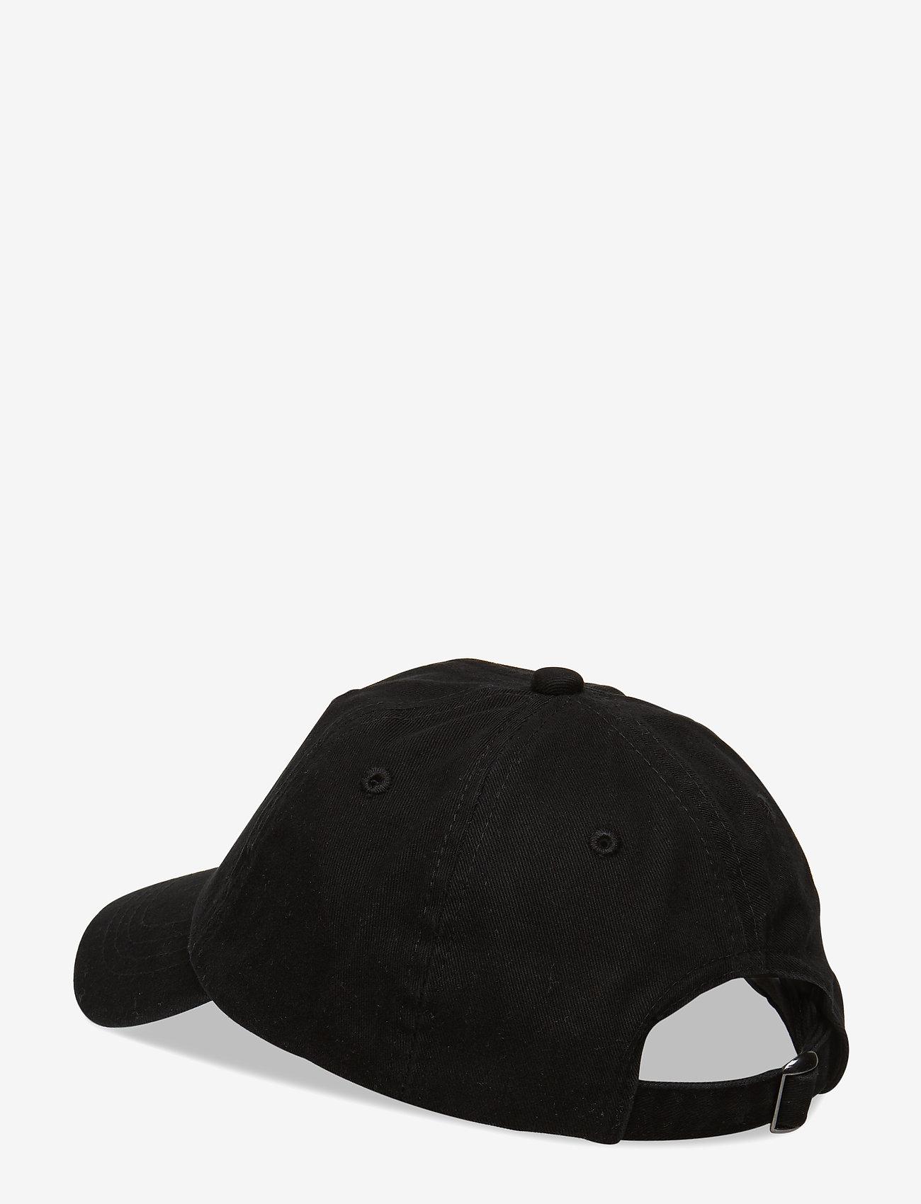 Wood Wood - Sim kids cap - czapki - black - 1