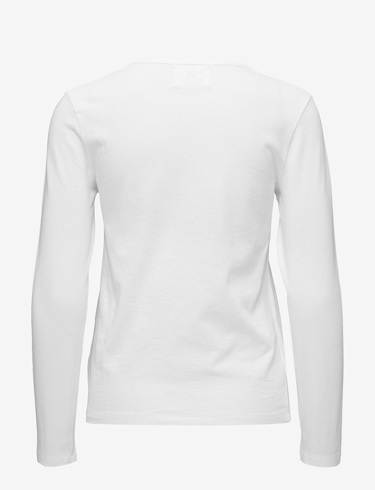 Wood Wood - Moa long sleeve - langærmede toppe - bright white - 1