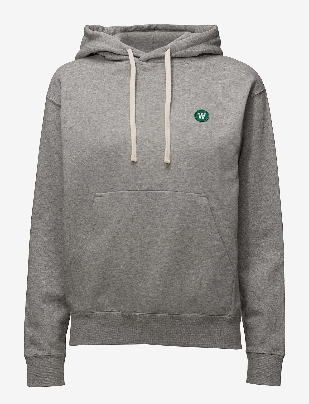 Wood Wood - Jenn hoodie - hettegensere - grey melange - 0