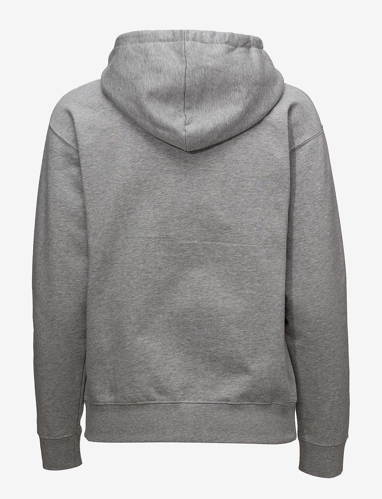 Wood Wood - Jenn hoodie - hettegensere - grey melange - 1