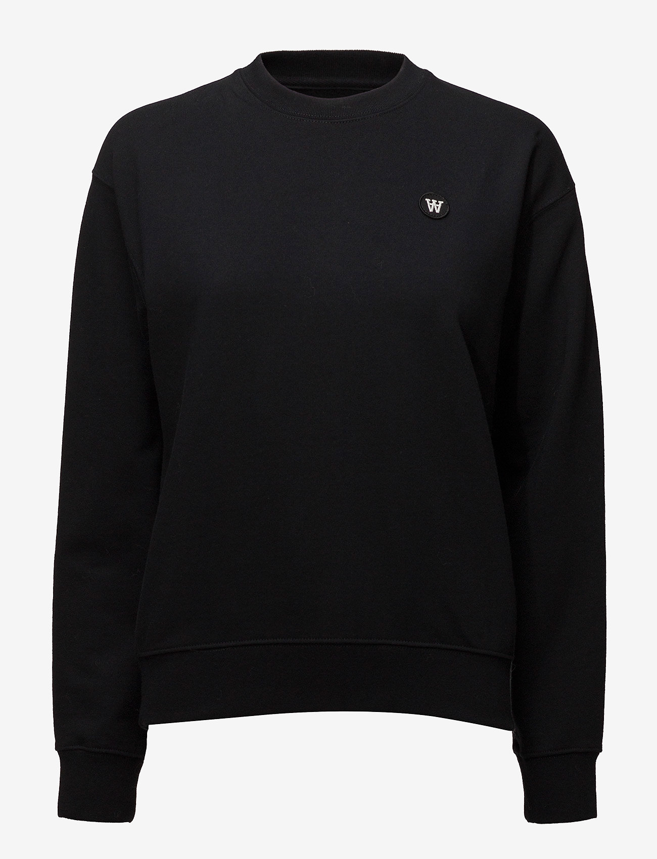 Wood Wood - Jess sweatshirt - sweatshirts - black - 0