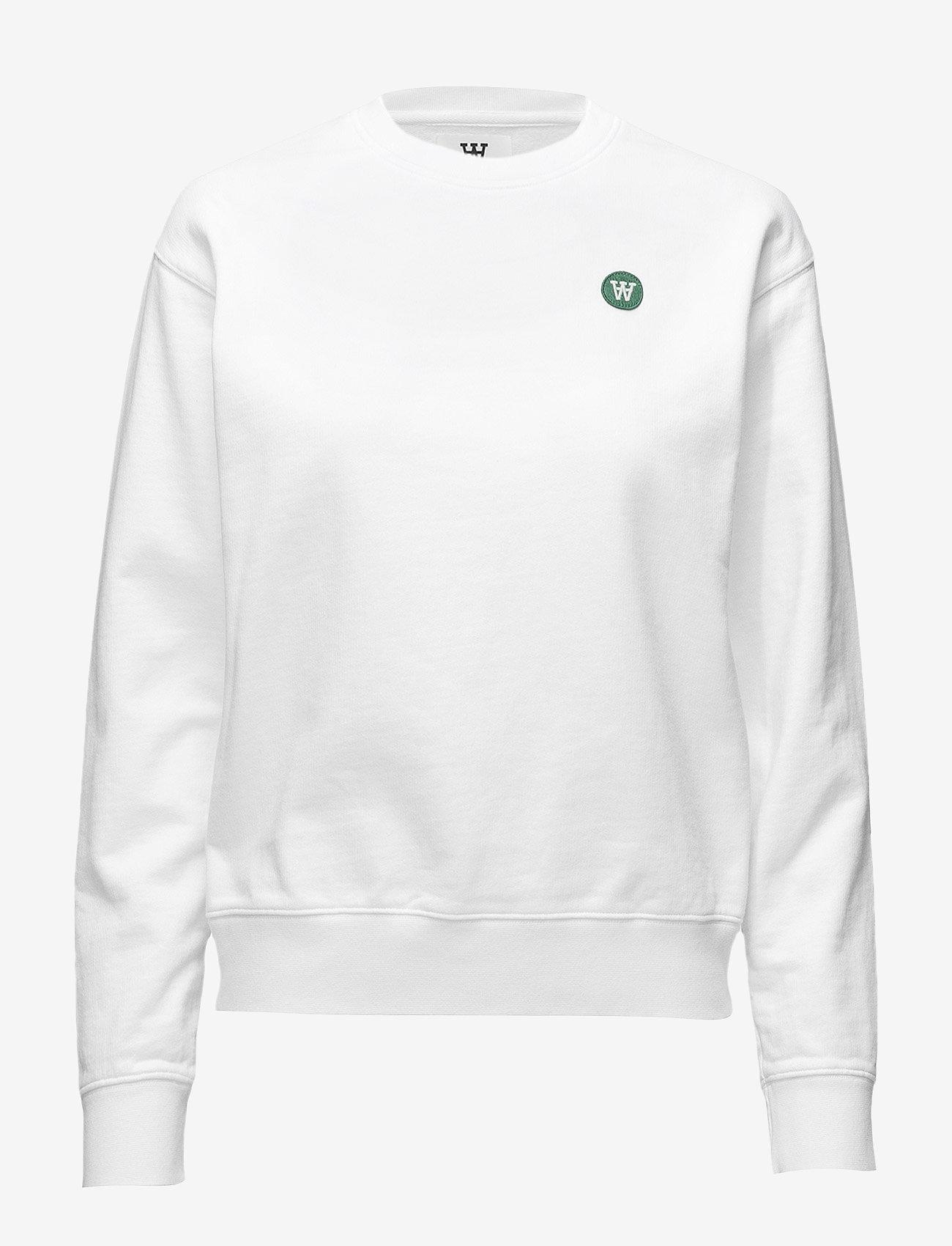 Wood Wood - Jess sweatshirt - sweatshirts - bright white - 0