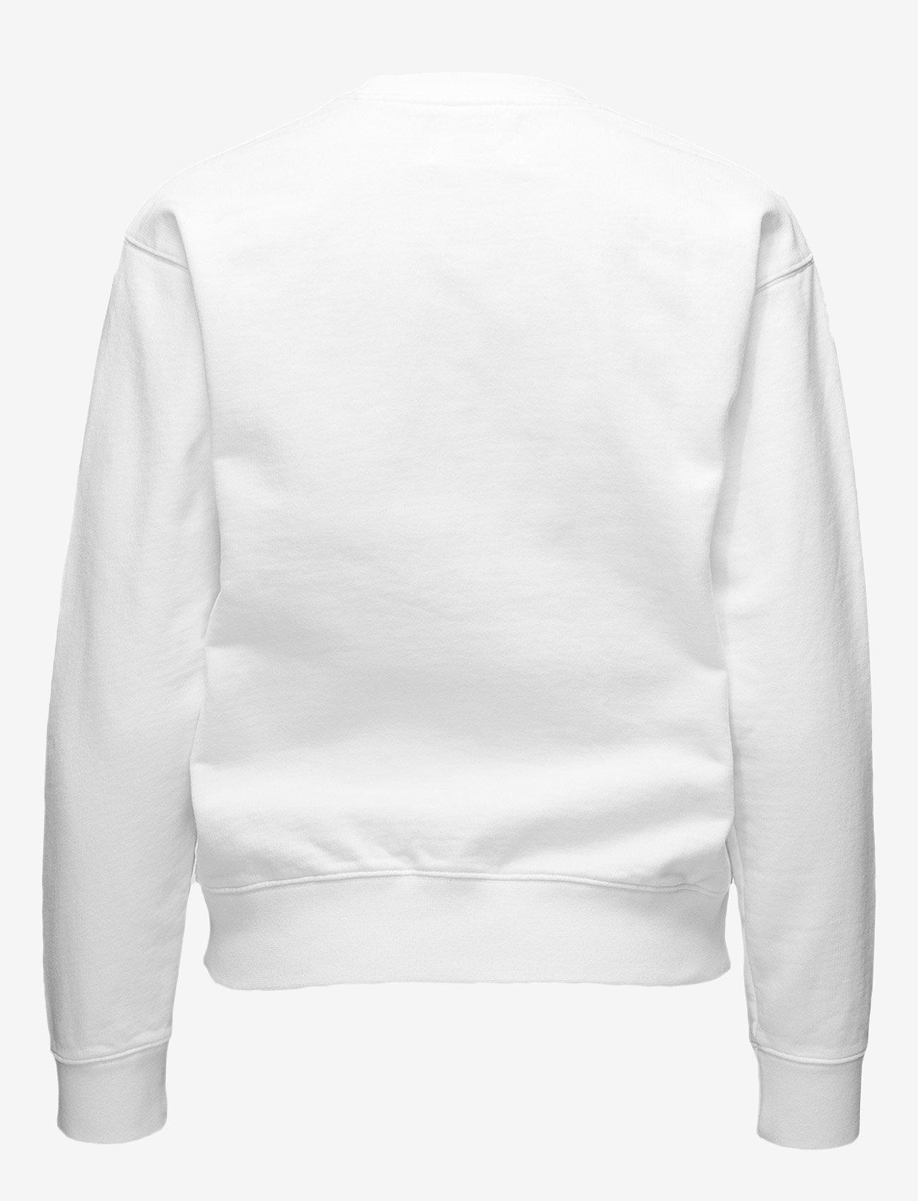 Wood Wood - Jess sweatshirt - sweatshirts - bright white - 1