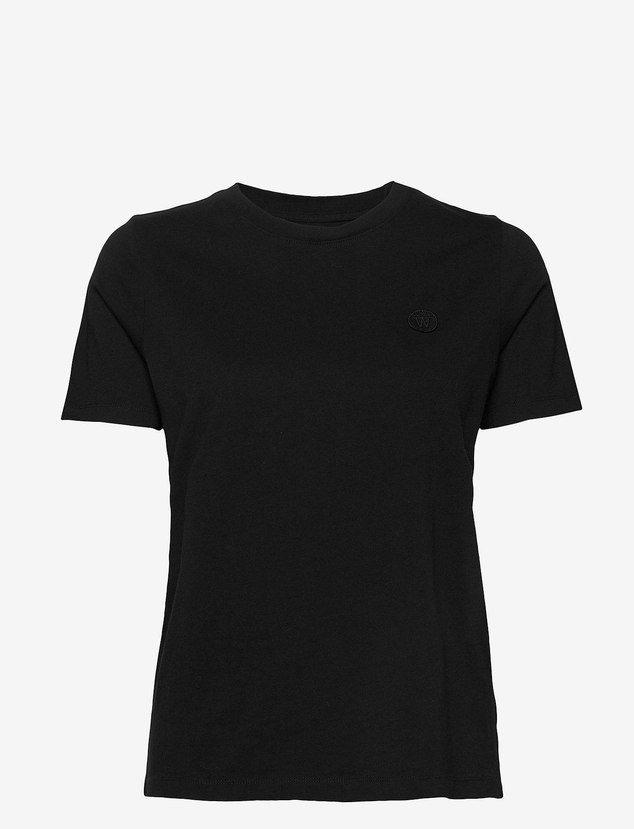 Wood Wood - Mia T-shirt - t-shirts - black - 0